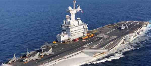 Коронавирус вывел из стоя французский авианосец