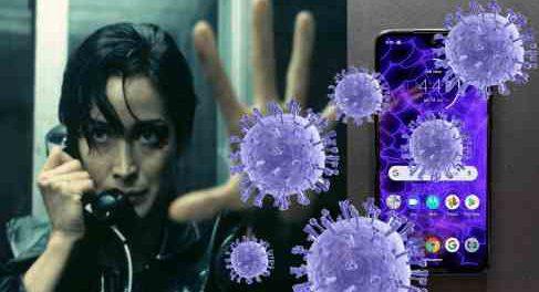 Коронавирус может облучаться из дорогих телефонов
