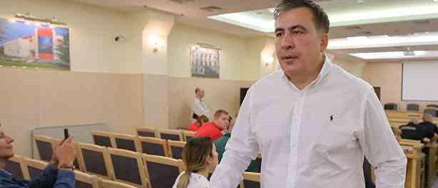 Саакашвили готовит Украину к развалу
