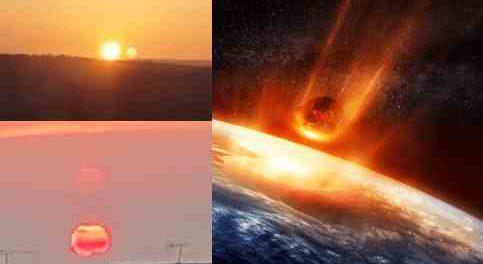 15 апреля упадет два астероида