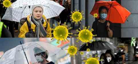 Коронавирус может передаваться по ветру и дождь