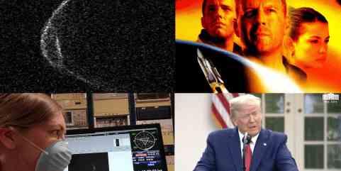NASA пытается изменить теорию астероида