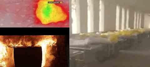 В Ухани людей сжигали заживо