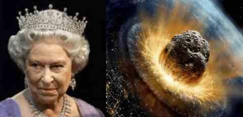 В воскресенье Елизавета II сообщит о астероиде