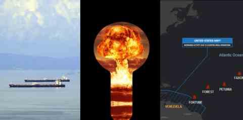 Первый иранский танкер подходит к Венесуэле