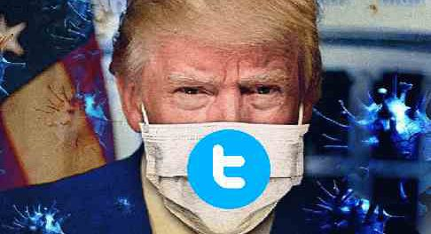 Твиттер снова удалил сообщение Трампа