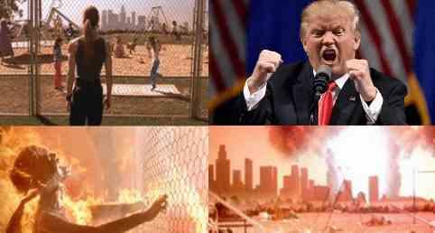 Война начнется в момент прямой трансляции Трампа