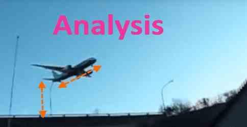 Самолеты и птицы стали висеть в воздухе