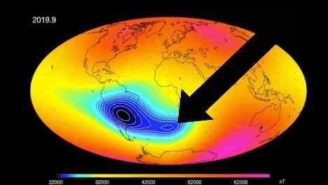 В ядре Земли сформировался новый диполь