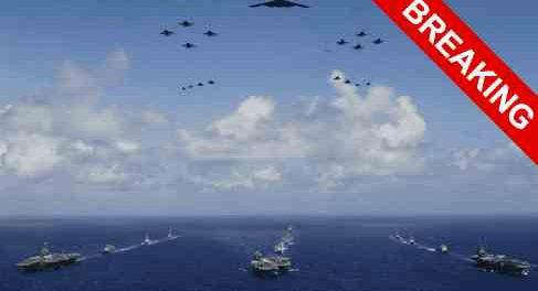Американцы отправили в море сразу ШЕСТЬ авианосцев