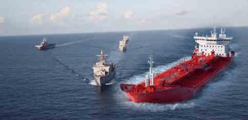 На перехват иранских танкеров Пентагон  отправил флот