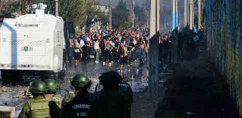 В Чили начинается революция из-за карантина