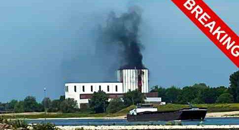 В Голландии загорелась АЭС