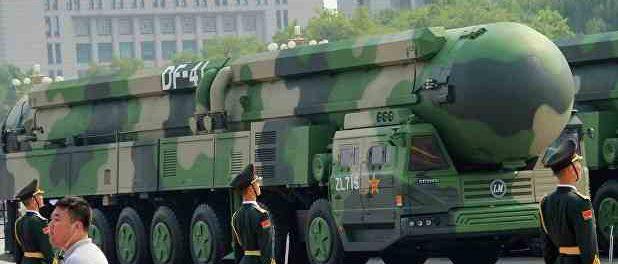 Нужно готовиться с гонкой вооружения с Китаем