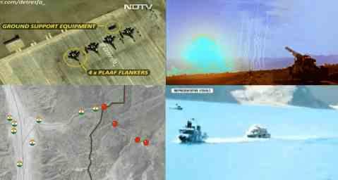 Китай вторгся на территорию Индии