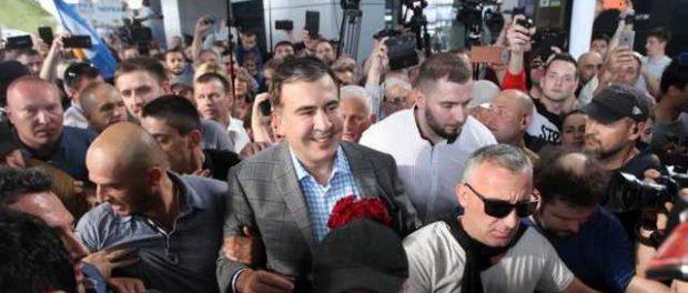 Двух пограничников посядят за выдворение Саакашвили в Польшу