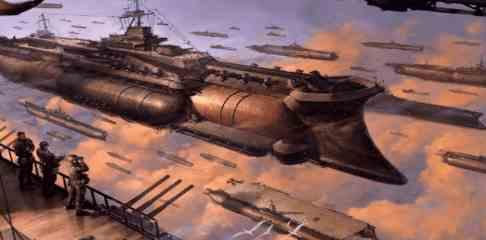 """Странное нашествие """"боевых дирижаблей"""" в небе над США"""