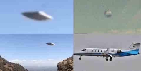 Новое НЛО в небе над Аризоной