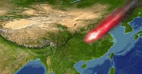 Китай ждет падение астероида