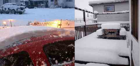 В некоторых местах планеты вдруг наступила зима