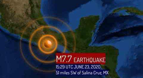 Землетрясение в Мексике М7.5