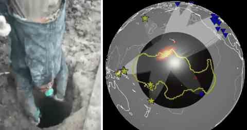 На поверхности земного ядра найдены материки