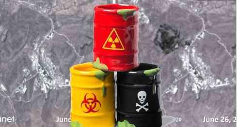 В Иране взорвались ядовитые отходы