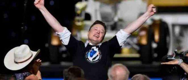 Илон Маск предложил летать «Роскосмосу» на батуте