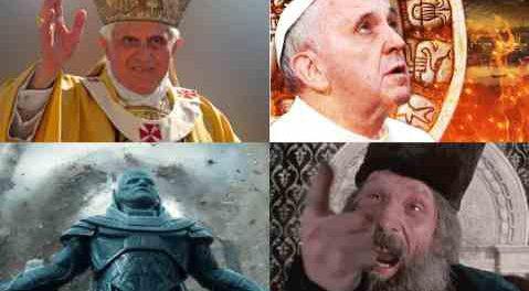 Папу Римского подменили