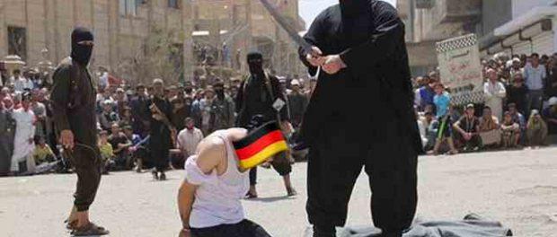 В Германии погромщики захватили центр города