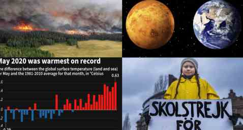 Разрушения Сибири и Аляски идет рекордными темпами