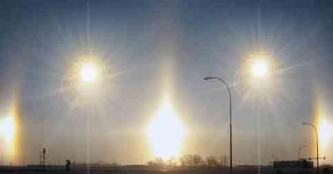 В Западной Африке появилось 5 солнц