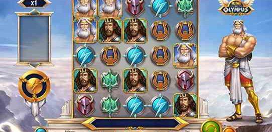 Обзор игровых автоматов онлайн Rise of Olympus