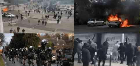 Чеченцы устроили во Францию войну