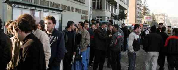 Турция задыхается в безработице