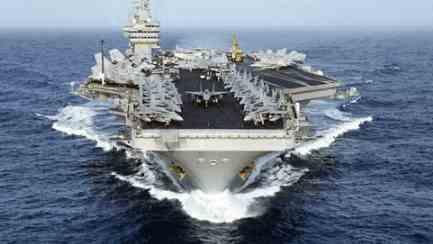 Для войны в Средиземное море пришел «Дуайт Эйзенхауэр»