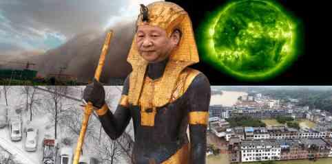 На Китай обрушились сразу 10 бед
