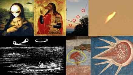 Увеличилось количество НЛО с древних гравюр