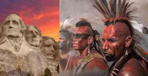 Индейцы начали крушить памятники США
