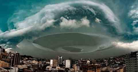 Бомбовый циклон над Бразилией