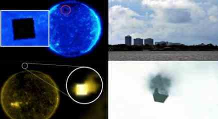 Новое нашествие кубических НЛО на Земле