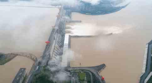 На Китай надвигается большая волна наводнении