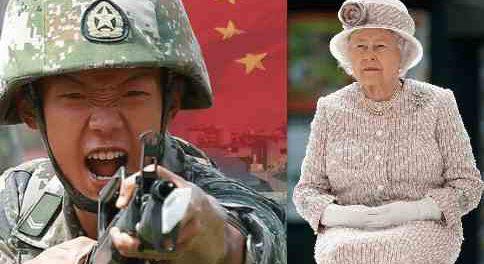 Англия залупилась на Китай