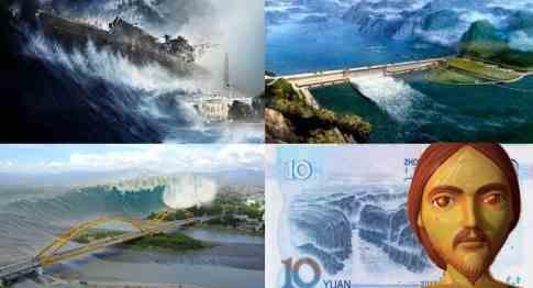 Плотина ГЭС Три ущелья продолжает рушится