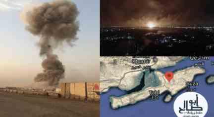 Кто-то уничтожил две иранские базы наводнением