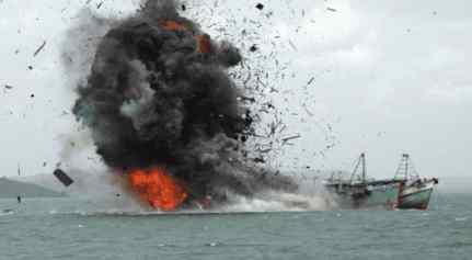 Патрульный катер КНДР обстрелял китайских рыбаков