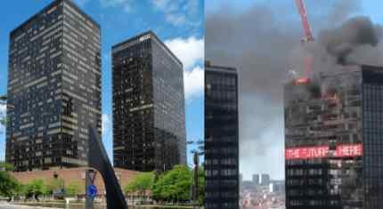 Серия пожаров после Ливана продолжается