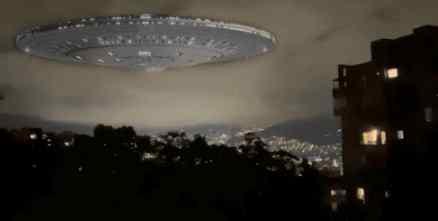 Шум в небе Колумбии напугал целый город