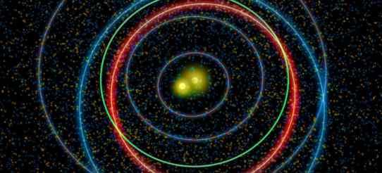 Астрономы из Гарварда предполагают, что наша звездная система раньше была двоичной