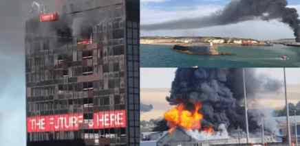 После Бейруте пожарами пылает весь мир